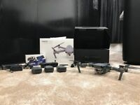 DJI MAVIC PRO FLY MORE COMBO WITH 7 FILTERS AS NEW