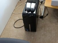 Packard Bell 640GB Hard drive TOWER Computer with LG 20 inch Screen