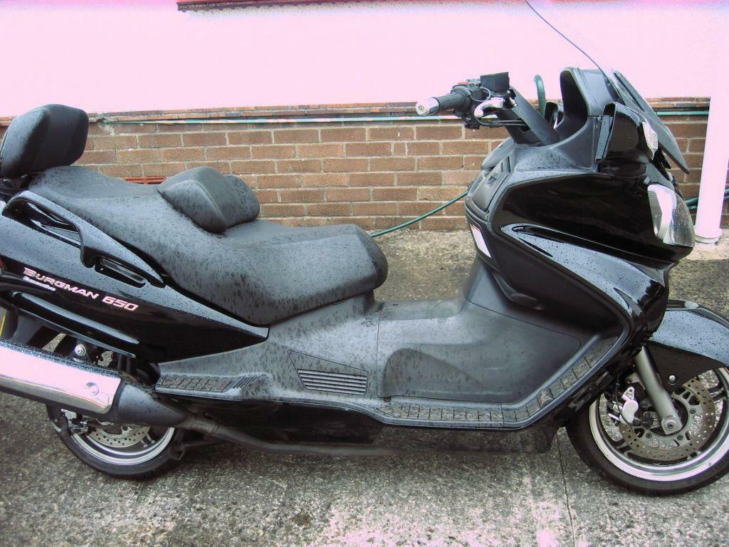 Electric Scooter With Seat >> suzuki burgman 650cc scooter,09 model | in Swansea | Gumtree