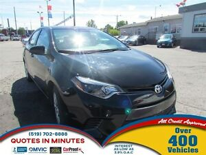 2015 Toyota Corolla LE | ONE OWNER | HEATED SEATS | CAM