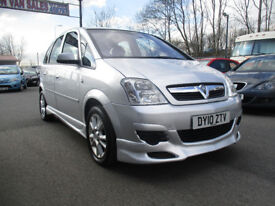 2010 Vauxhall Meriva 1.4 i 16v Club 5dr comes with 12 months mot service history drives well