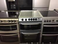 Cannon silver gas cooker