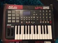Akai mpk25 midi keyboard
