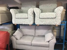 NEW / EX DISPLAY Grey John Lewis Mayson 3 + 1 + 1 Seater Sofas