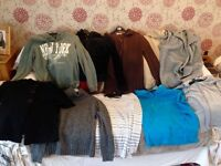 Bundle of womans winter jumpers