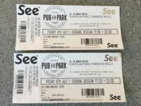 Pub in the Park VIP Tickets 6th July