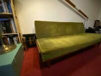 Vintage 1960 sofa bed
