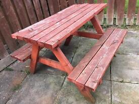 4ft picnic table