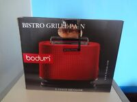 Bodum bistro toaster and bun warmer