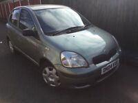 2004 04 Toyota Yaris T3 1.0 VVTI 5 Door Hatchback Service History Power Steering