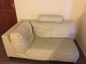 Free sofa and large foot stool