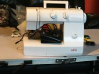AEG sewing machine only used once