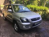 2007 57 KIA SPORTAGE 4x4 SILVER HPI CLEAR DIESEL IMMACULATE CONDITION 12 MONTHS MOT
