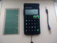 Teenage Engineering Pocket Operator PO-12 Rhythm + Official Pro Case + Sync Cable + Punch Card