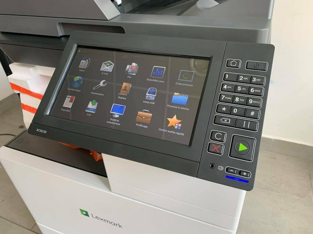 Photocopieur  40 pages/minute lexmark xc4140 couleur  a4  wifi comme neuf