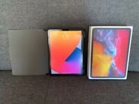 "iPad Pro (2020) 11"" 128GB cellular bundle with case and Paperlike"