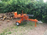 Log Splitter with Operator