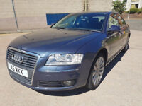 AUDI A8 3.0 TDI QUATTRO SE 4d AUTO 229 BHP GREAT EXAMPLE OF 4 X 4 + NAVIGATION SYSTEM + LEATHER +