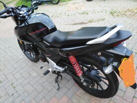 Honda, CB, 2019, 125 (cc)