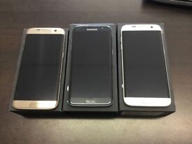 Samsung galaxy s7 edge 32gb unlocked very good condition with warranty and accessories