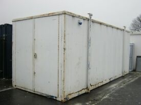21ft x 8ft High Security Site Storage Container For Sale IN STOCK shipping container portable cabin