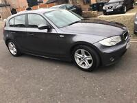 Bmw 118i sport 5dr* low mileage*6 month warranty included*space grey*