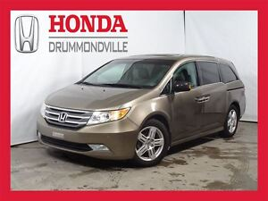 2013 Honda Odyssey TOURING+GPS+DVD+CUIR+MAG+++