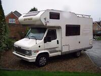 4 Berth camper van , Hymer camp 51