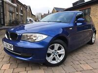 BMW 1 Series 2.0 118d SE 5dr p/x welcome **6 MONTHS WARRANTY** 2009 (58 reg), Hatchback