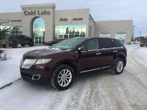2012 Lincoln MKX AWD LEATHER, UNDER 89K KM, HEATED SEATS
