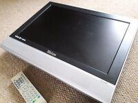 "19"" Lcd Television HD Ready HDMI and separate DVD player"