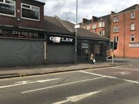Highly prominent mid-terraced retail premises Paisley Road West - Available Now
