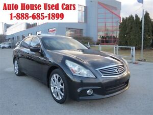 2010 Infiniti G37X S, NAV,AWD,Leather,Sunroof,Backup Camera