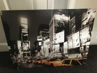 New York scene canvas