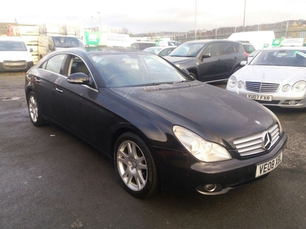 2008 MERCEDES CLS 320 CDI AUTO SAT-NAV, LEATHER, HEATED SEATS, SERVICE