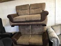 Ex Display x2 2 Seater sofas