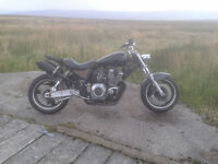 bobber/streetfighter 1200cc .runs nice.mot etc