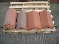 VARIOUS CLAY RIDGE TILES