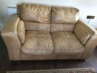 3 seater, 2 seater sofa and footstool