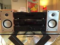 Sony Hi fi system Cambridge audio amp with speakers