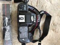 Nikon F401 35mm camera body