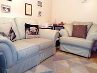 2 Seater and Armchair - Leather