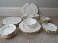China with Plymouth Coat of Armes