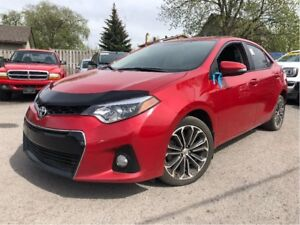 2016 Toyota Corolla S 4 NEW TIRES LEATHER MOON ROOF BACK UP CAME