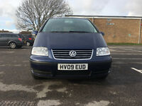 Volkswagen Sharan 1.9 TDI PD SE 5dr£4,495 p/x welcome 7 seater 1 owner from new 2009 (09 reg), MPV