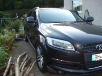 Audi Q7 2006 120.000 Km LEFT HAND DRIVE, some service history,diesel