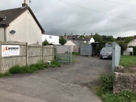 Secure Commercial Yard now available Ecclefechan, Lockerbie, Dumfries and Galloway