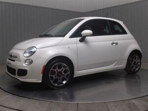 2015 Fiat 500 SPORT A/C MAGS CUIR