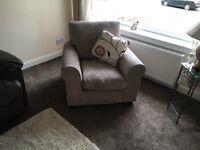 Beige armchair.great condition
