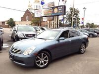 2005 Infiniti G35X AWD, 83KM 1 OWNER ACCIDENT FREE